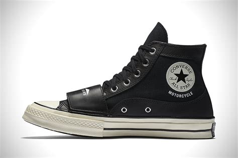 high top motorcycle converse x neighborhood motorcycle chuck taylors
