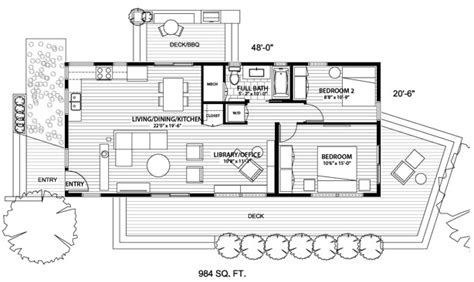 house design and floor plan for small spaces open floor plans with blu homes little house in the valley
