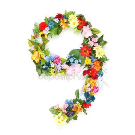 lettere e fiori lettere e numeri fiore foto stock 169 carenas1 2977492