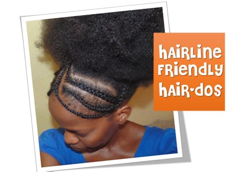 hairstyles to protect edges 45 hairline friendly hairstyles braided headband youtube