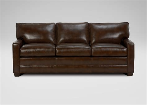 3 cushion leather sofa three cushion track arm leather sofas ethan allen