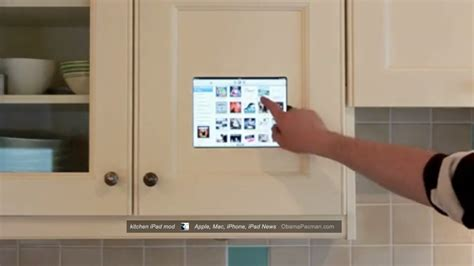 diy kitchen cabinet diy kitchen ipad cabinet mod install for mother s day