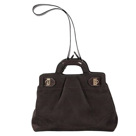 Sale Salvatore Ferragamo Doctor Bag Vo06fs1019 brown salvatore ferragamo suede satchel for sale at 1stdibs