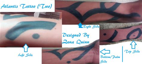 atlantis tattoo pin simple yet tattoos 1 on