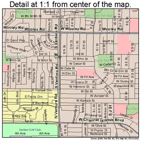 california map oxnard oxnard california map 0654652