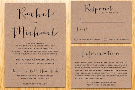 Diy Wedding Invitation Paper   Sunshinebizsolutions.com