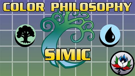mtg color pie mtg u g simic philosophy strengths and weaknesses a