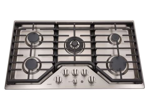 cooktops gas reviews ge cafe cgp9536slss cooktops reviews consumer reports