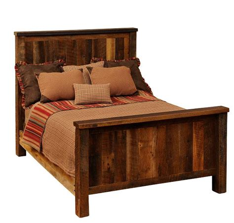 Barnwood Headboards For Sale by Traditional Barnwood Bed Rustic Beds For Sale Lodge Craft