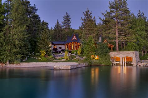 Lake Tahoe Vacation Homes - new luxury lakefront listing in glenbrook nv tahoe luxury properties