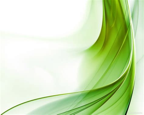 Green Wave Abstract Backgrounds For Powerpoint Templates Abstract Powerpoint Background
