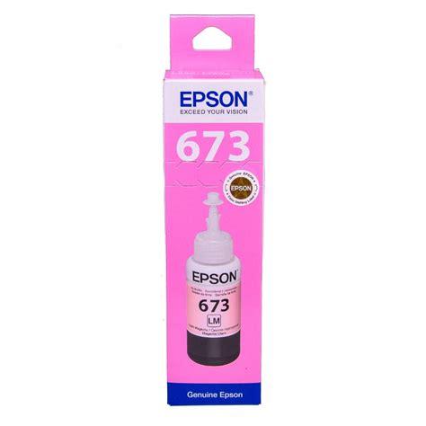 Promo Ori Tinta Epson T6735 Light Cyan epson t6735 light magenta original dye ink refill replaces ct24254010