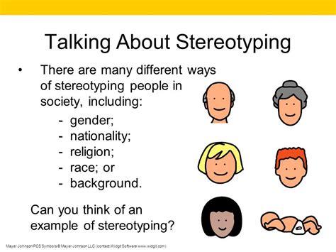 stereotype exles www pixshark images galleries