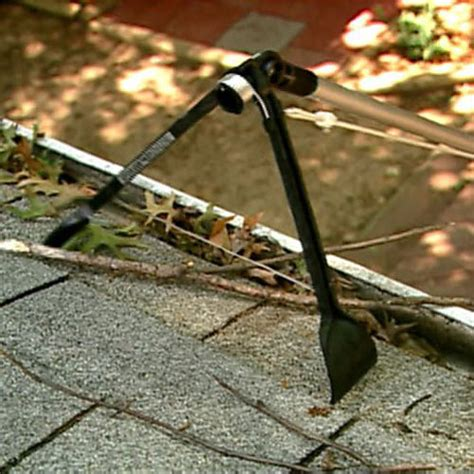 Tools To Clean Gutters by Gutter Sense Gutter Cleaning Tool The Green