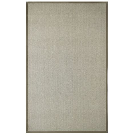 lanart rug sisal beige 9 ft x 12 ft area rug the home