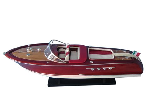 speed boat models buy wooden riva aquarama limited model speed boat 32 inch
