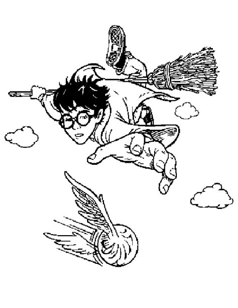 harry potter coloring pages quidditch harry potter color pages coloring home