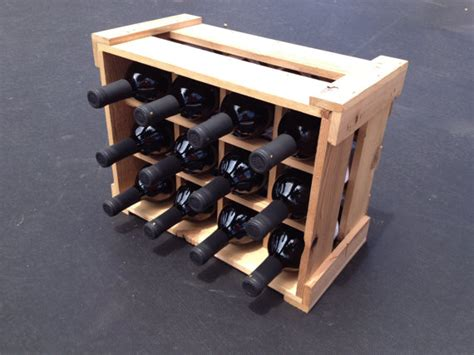 Handmade Wine Rack - handmade 100 recycled wine racks