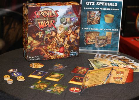 Spoils Of War Board top 5 takeaways from gama trade show 2017 casual