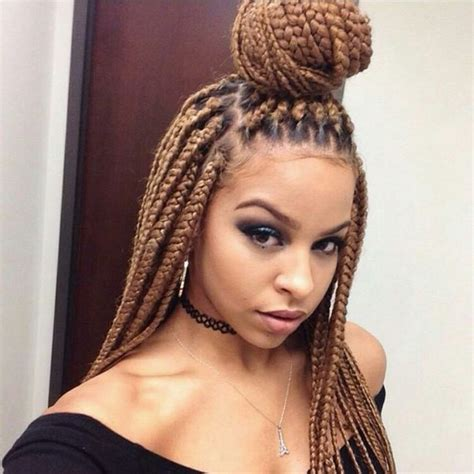 big braids hairstyles 42 best big box braids styles with images beautified designs