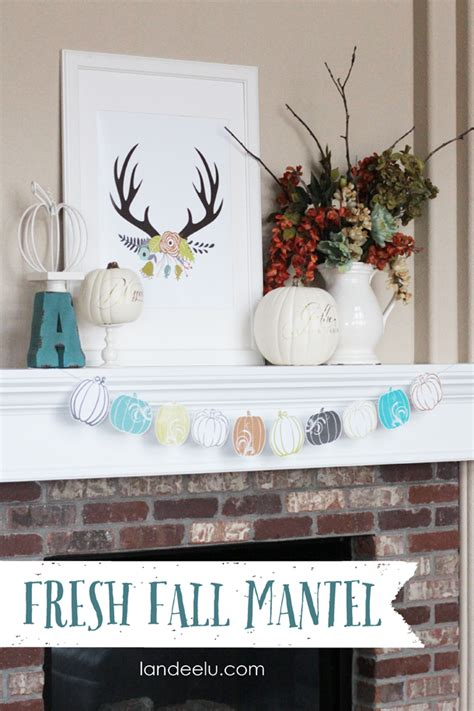 do it yourself home decor ideas diy fall mantel decor ideas to inspire landeelu com