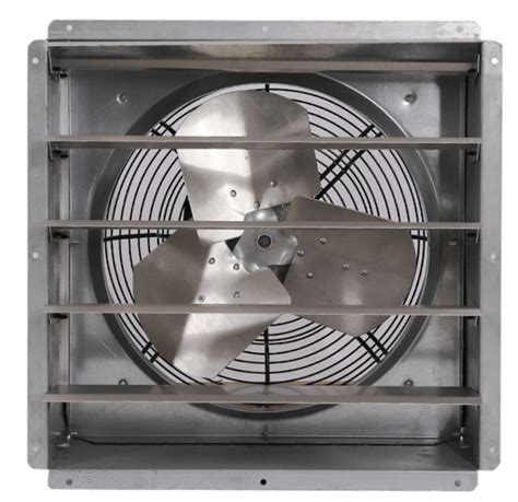 industrial fans direct com triangle engineering gpx1611 16 quot shutter exhaust fan