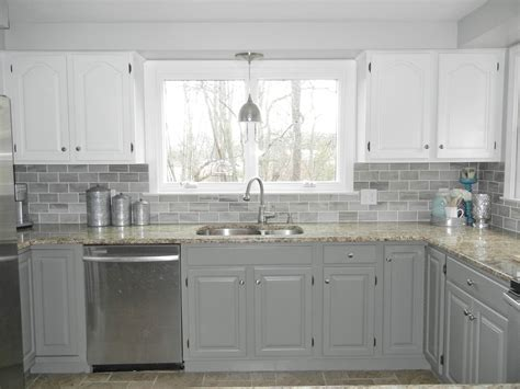 Oak Kitchen Cabinets Painted White by Attachment Painted White Oak Kitchen Cabinets 2778