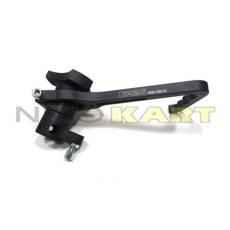 supporto volante supporto volante top kart kz inclinato e completo di leva