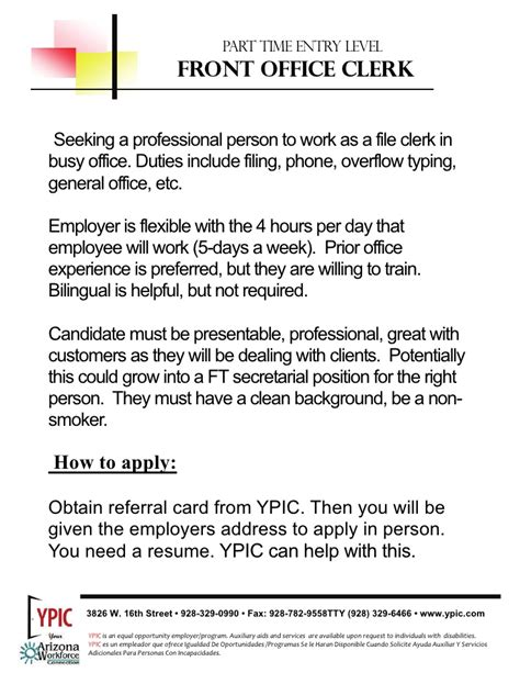 File Clerk Job Description Resume entry level file clerk job description