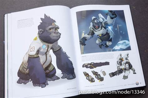 overwatch the ultimate book book review the art of overwatch parka blogs