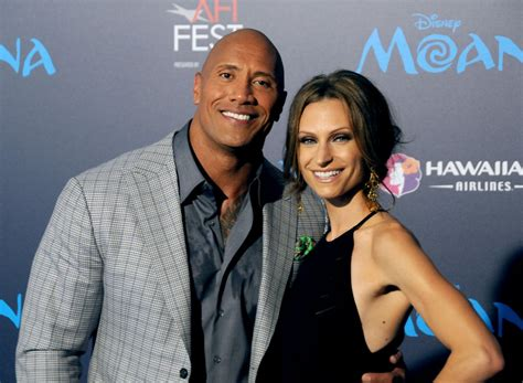 dwayne the rock johnson lauren hashian dwayne johnson and lauren hashian s cutest pictures