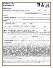 6 1 year lease agreement printable receipt