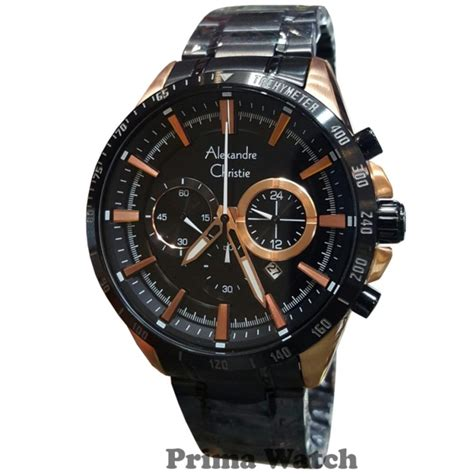 Tetonis T6022 Jam Tangan Pria Leather 7 alexandre christie ac6451mr jam tangan pria stainless steel hitam gold alexandre christie