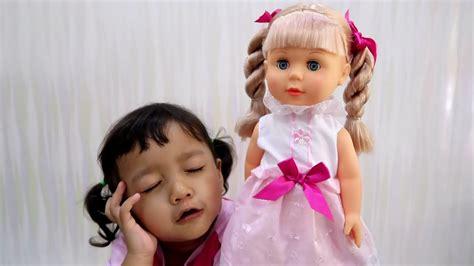 Boneka Lucu Bisa Bicara bermain dengan belinda walking doll boneka cantik yang