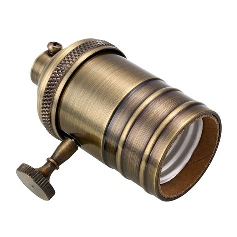 l holder socket with switch e26 e27 vintage retro copper pendant l holder socket