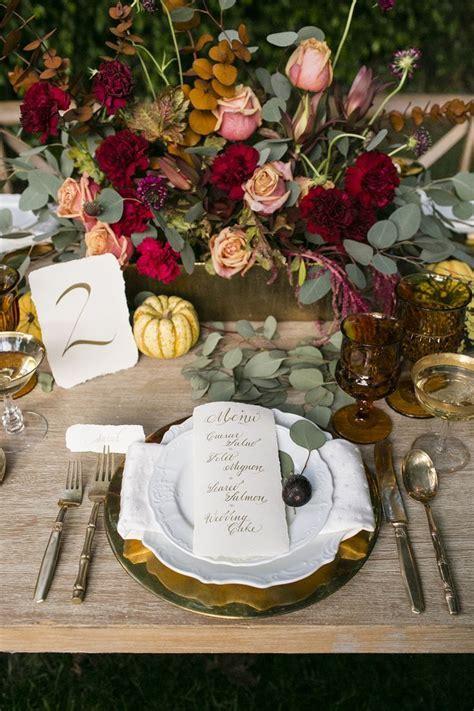 Autumn Leaves Wedding Inspiration