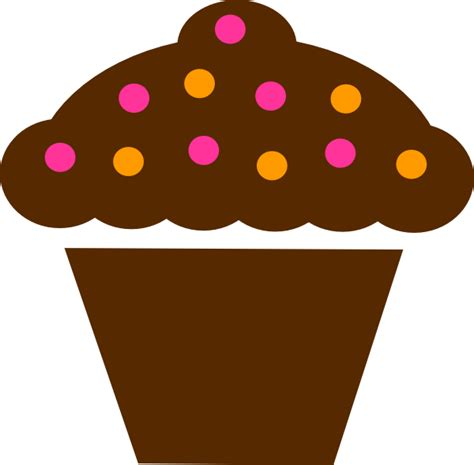 free cupcake clipart polka dot cupcake clip at clker vector clip