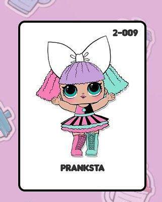 Lol Suprise Doll Series 1 Pranksta lol doll pranksta wave 2 series 2 to find 163 17 99 picclick uk