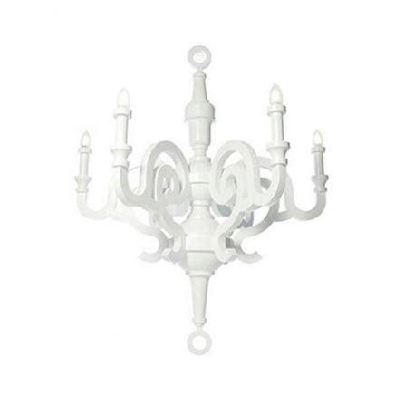 white paper chandelier kroonluchter