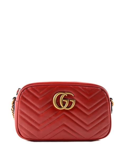 New Gucci Gg Marmont Quilted Original Leather Bag gg marmont quilted bag by gucci cross bags ikrix