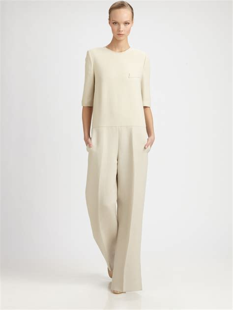 Stella Naturals All In One lyst stella mccartney jumpsuit in