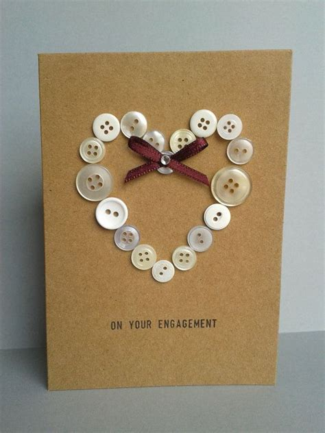 Handmade Diy - best 25 button cards ideas on cards