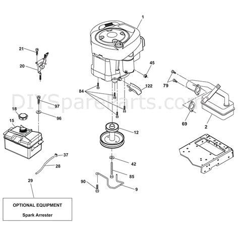 mcculloch parts diagram mcculloch m115 77rb 96051001103 2011 parts diagram page 6