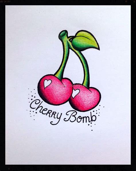 cherry bomb tattoo best 25 skull ideas on sugar