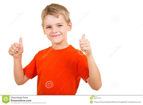 thumbs up my brown boy books boy thumbs up stock photo image 40221110