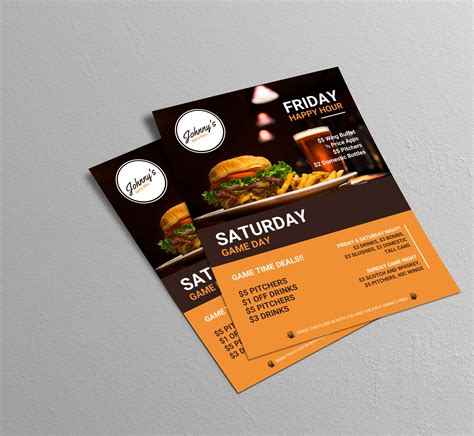 free marketing flyer templates delli beriberi co