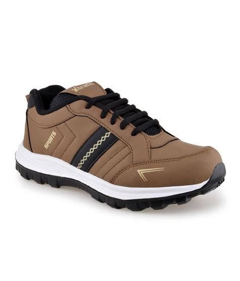 brown sport shoes xtrafit brown sports shoe for price in india buy