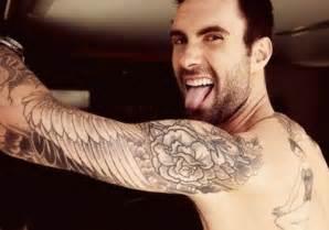 Top Gun Bar Song 25 Adam Levine Tattoos Creativefan