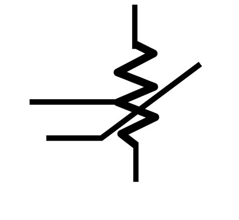 symbol for fixed resistors fixed resistor symbol clipart best