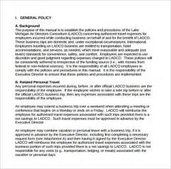 board policy manual template sle policy manual 9 exles format